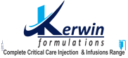 kerwin formulations- critical care injection and infusion range